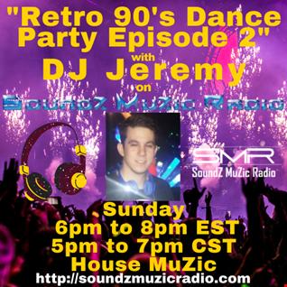 Live @SMR Retro 90's Dance Party Episode 2