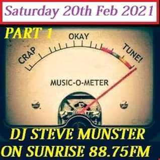 Saturday Afternoon Radio Show With DJ Steve Nut Nut Munster 20th Feb 2021