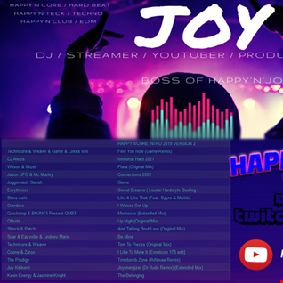 [ HARDDANCE & TWITCH ] HAPPY'N'CORE 01 02 2021 mixed by JOY