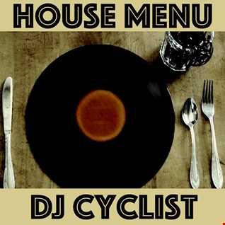 DJ Cyclist   House Menu