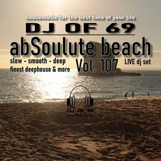 DJ of 69 - AbSoulute Beach 107