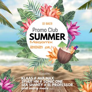 VA   Promo Club Summer 2021 Megamix Pt.1 (Mixed by DJ Baer)