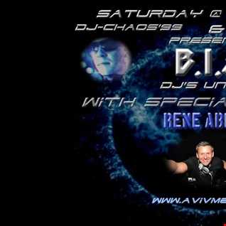 BIA - DJ's United - Guest Host with Special Guest Rene Ablaze