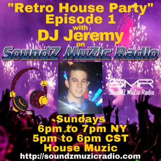 Retro House Party Episode 1 Live @SMR