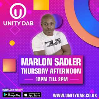 MARLON SADLER Unity DAB Radio - 01-04-2021 (weekly Show)
