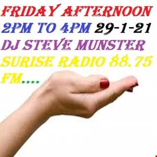 Friday Afternoon 2pm to 4pm 29 1 21