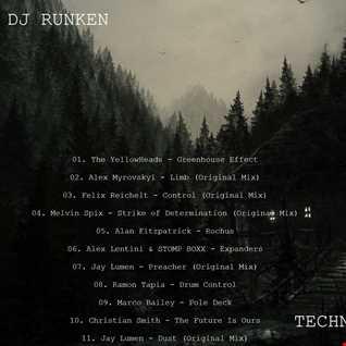 Dj Runken  Techno Set (2021)