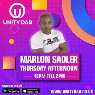 MARLON SADLER Unity DAB Radio - 08 -04-2021 (Weekly Show)