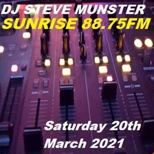 Saturday Show on Sunrise 88.75fm 20.3.2021 rec 20210320 120236