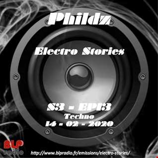 Electro Stories S3 EP13 20200214 (Techno Detroit Like)