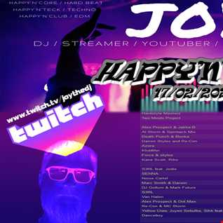 HAPPY'N'CORE 17/02/2020  mixed by JOY live on TWITCH