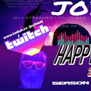 HAPPY'N'CORE 28 04 2021 S11E17 352 mixed by JOY [ Twitch Live Wednesday ]