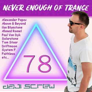 Never Enough of Trance episode 0078