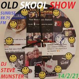 Sunday Night Old Skool Show 14th Feb 2021