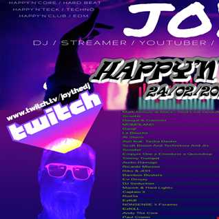 HAPPY'N'CORE 24 02 2021 Live on Twitch ( JOYTHEDJ ) All Wednesday 20h CET+1