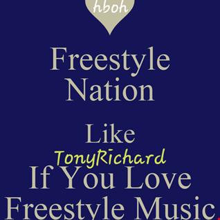 "Flash Back Thursday Night:  ""Freestyle Dance Party""  {Tony's Free Stylin' 21 Mix}"