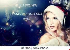 L J Brown Techno Mix dec 2018