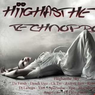 hiighasthe sky - Techno promo