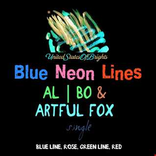 al l bo & Artful Fox - Blue Neon Lines (Original Mix)