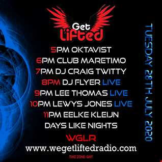 FLYERS OFF THE CUFF SESSIONS ON WE GET LIFTED RADIO VOL 26 28.7.20