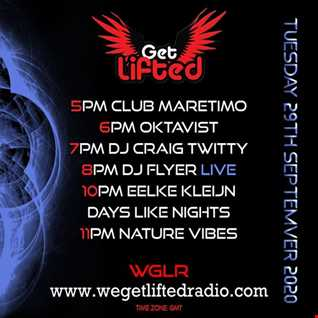 FLYERS OFF THE CUFF SESSIONS ON WE GET LIFTED RADIO VOL 34 29.9.20