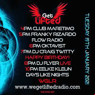 FLYERS OF THE CUFF BIRTHDAY SESSIONS ON WE GET LIFTED RADIO VOL 51 19.01.21