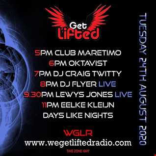 FLYERS OFF THE CUFF SESSIONS ON WE GET LIFTED RADIO VOL 30 24.8.20
