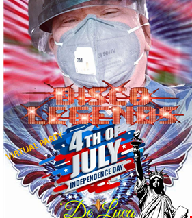 Virtual Special day of July4 Disco Legends