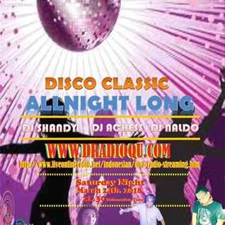 DJ Achess on Disco classic allnight long Diva radio livestreaming 24 March 2018.