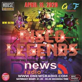 Dj Achess on Disco Legends Dnews radio 11 April 2020