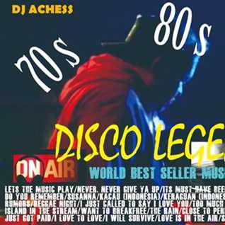 WORLD BEST SELLER Volume 2  Disco Legends nonstop by DJ Achess