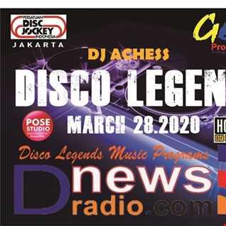 DJ Achess on Disco Legends music program 28  March 2020 section 3
