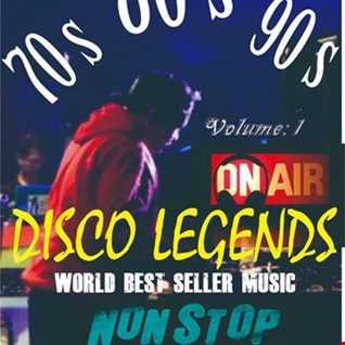 WORLD BEST SELLER Disco Legends nonstop by DJ Achess Volume 1
