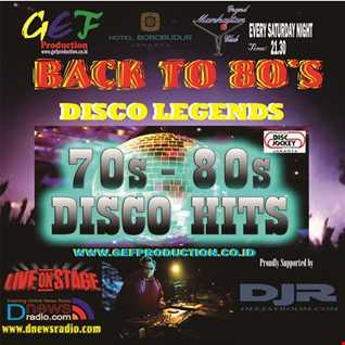 Back to 80s DISCO LEGENDS = BREAKOUT TO THE LEGENDS nonstop by DJ ACHESS