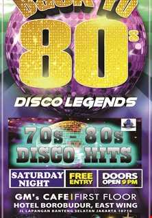 Back to 80s DISCO LEGENDS =A moment Nonstop disco Legends bya DJ Achess=