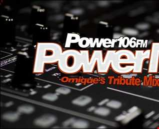Ornique's 80s & 90s Power 106 FM Tribute Power Mix #15