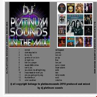 PLATINUM SOUNDS IN THE MIX  VOLUME 3 ROCK