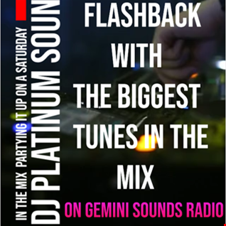 GEMINI SOUNDS RADIO SATURDAY FLASHBACK 10TH OCT 2020