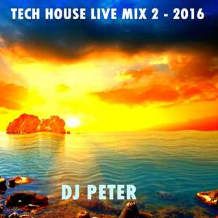 Tech House Live Mix 2 - 2016 DJ Peter
