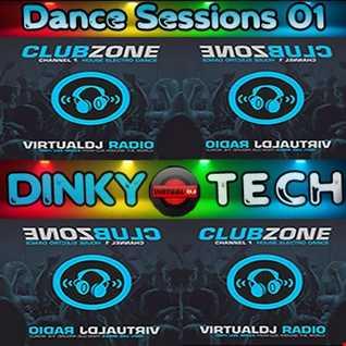 Dinky Tech Dance Sessions 01 (Virtual DJ Radio Club Zone)