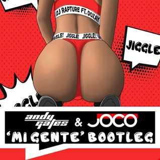 DJ Rapture feat. DoZay - Jiggle (Andy Gates & JOCO 'Mi Gente' Bootleg)