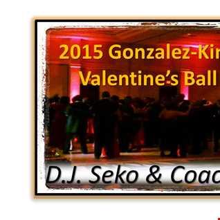 2015 Valentine's Day Ball -  DJ Seko and Coach Jay