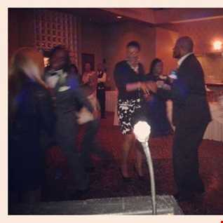 Marquise and Keyanna's Wedding Reception - DJ Seko Varner wedding style