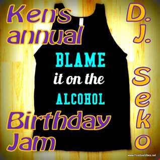 Blame it on the Alcohol at Club Ken - 10-18-2014 DJ Seko live