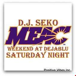 MEAC Weekend Saturday @ Deja Blu 03 15 2014   DJ Seko