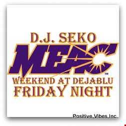 MEAC Weekend @ Deja Blu 03 14 2014 - DJ Seko
