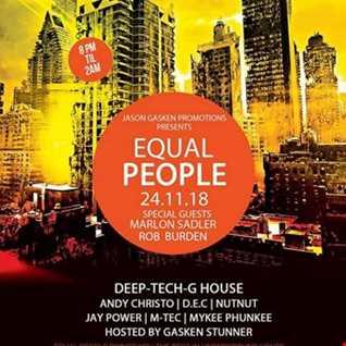 Marlon Sadler Back 2 Back with D.E.C - Recorded Live at Equal People 24th November