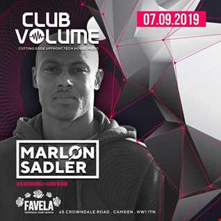Club volume promo mix   Marlon Sadler