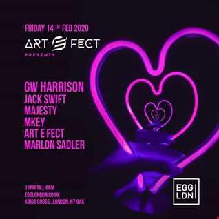 Marlon Sadler  - Live art e fect valentines special @ Egg London