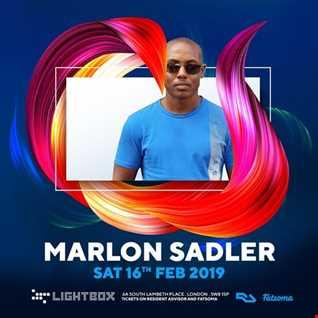 Marlon Sadler -  February Tech House Mix
